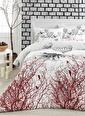 Eponj Home Kolay Ütülenir Nevresim Takımı Çift Kişilik Palvin Beyaz